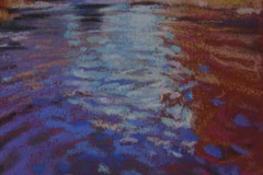 Red Reflection<br /><small>pastel     11 x 15     sold</small>