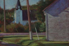 View of Bridgeville<br /><small>pastel     10 x 9 3/4      $750</small>
